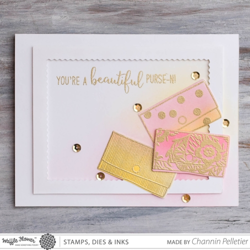 WFC-3-Purse-nality Stamp & Die and Pinking Layers Die-Channin-1