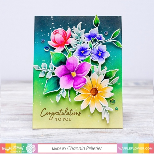 WFC201912-271291 Bouquet Builder 6 Stamps-Channin. 1