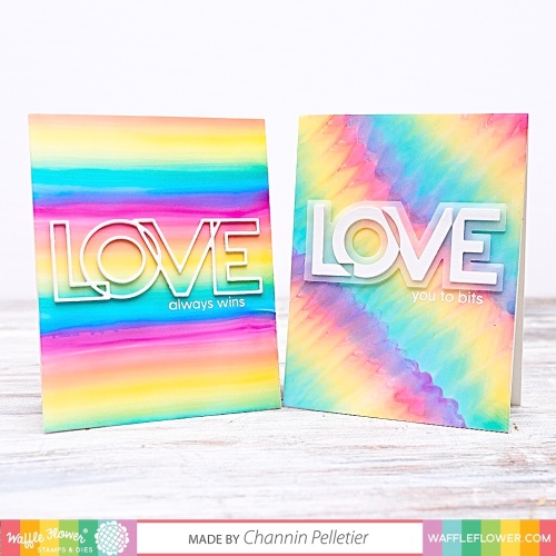 WFC201912-310362 Outline Love Word Die-Channin 3