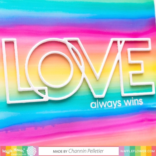 WFC201912-310362 Outline Love Word Die-Channin 6